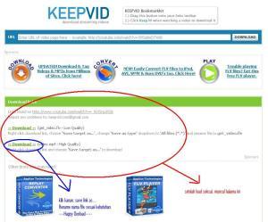 keepVid layar ke kedua